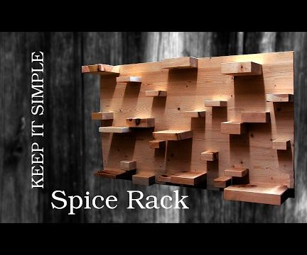 Simple and cheap Spice Rack