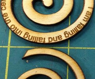 Make a Wooden Spiral Pendant