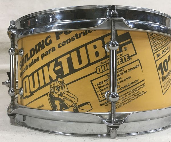 The QUIK-TUBE Snare Drum