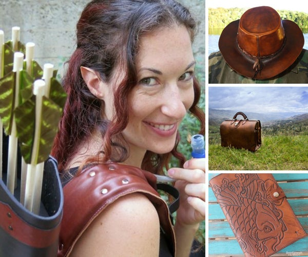 14 Intricate Leatherworking Projects