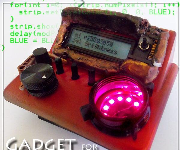 Animator Gadget for NeoPixels