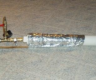 Pneumatic Snowball Cannon