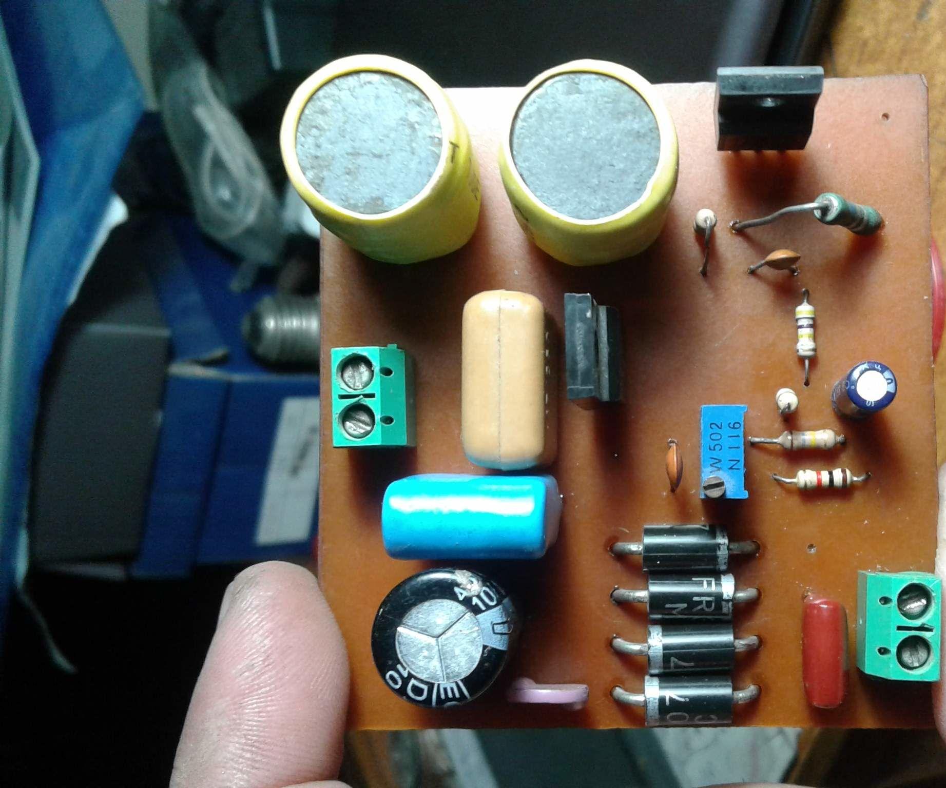 HV9910 Universal LED Driver With 220v AC Input