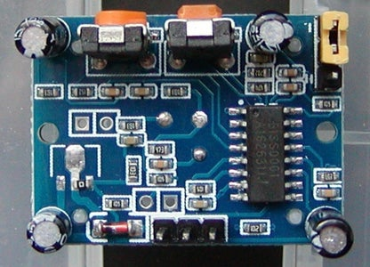 Remove the 3v3 Regulator From the Motion Detector