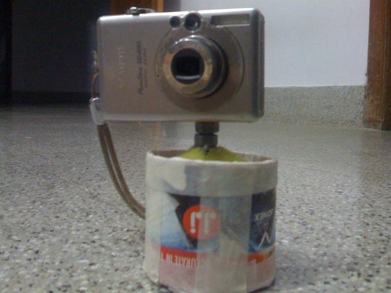 3-axis ballhead mini tripod thingie (aka. the tennisball-pod)