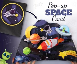 Pop-Up SPACE Card