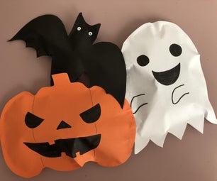 Halloween Paper Toys
