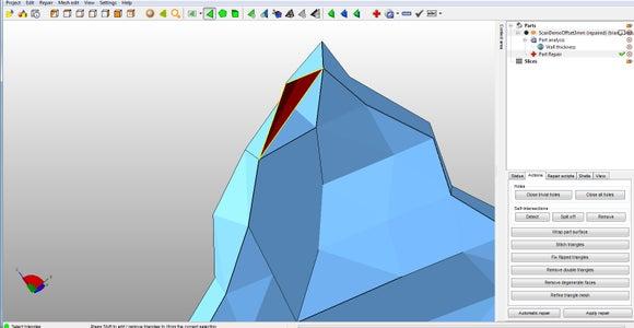 Delete Bad Triangles