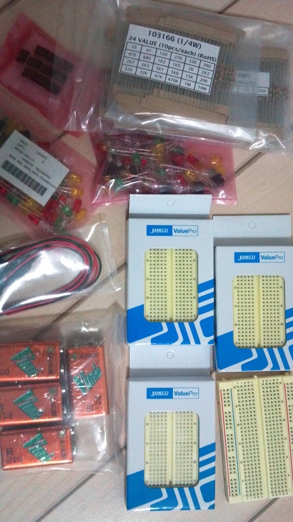 Components Received