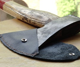 Leather Hatchet Sheath