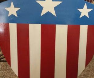 Captain America WWII Heater Shield