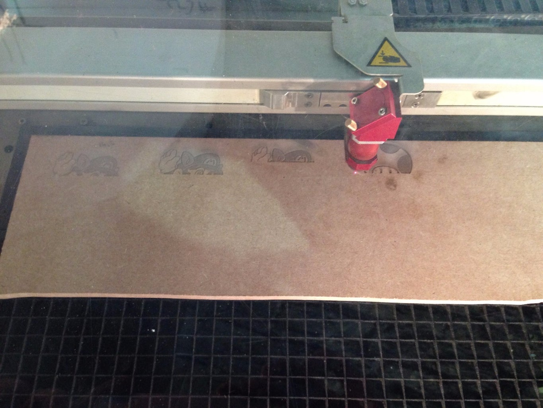 The Laser Engraving