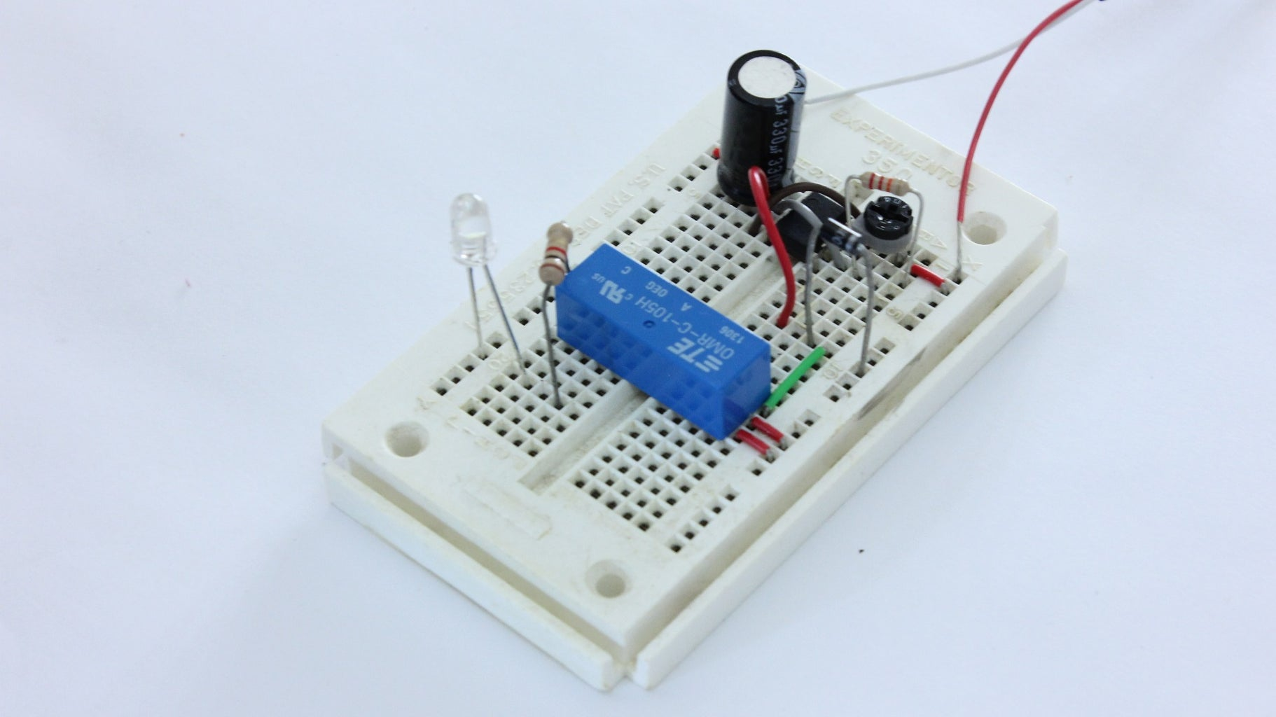 Prototype the Circuit on a Breadboard