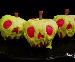 苹果酒香料毒物苹果杯形蛋糕