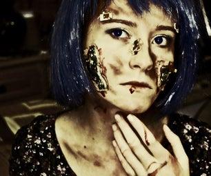 Halloween Makeup - Cyber
