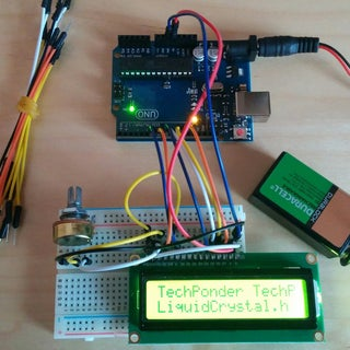 How to Interface LCD (16X2) to Arduino