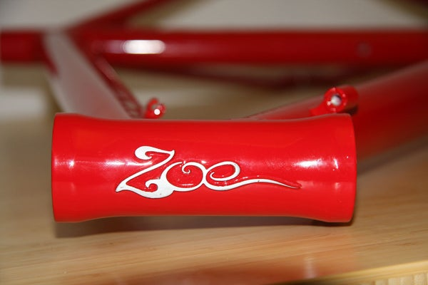Prepping a Bike Frame for Powder Coating With Logos
