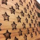 2x4 American Flag Wall Art/coffee Table!!