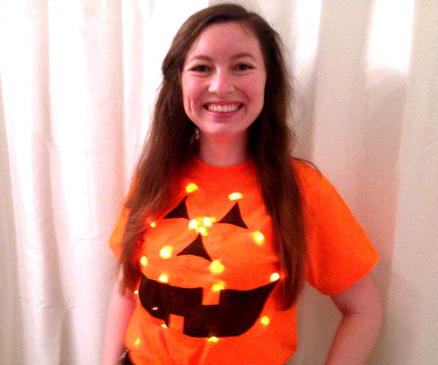 Light-Up Jack-o-Lantern Costume