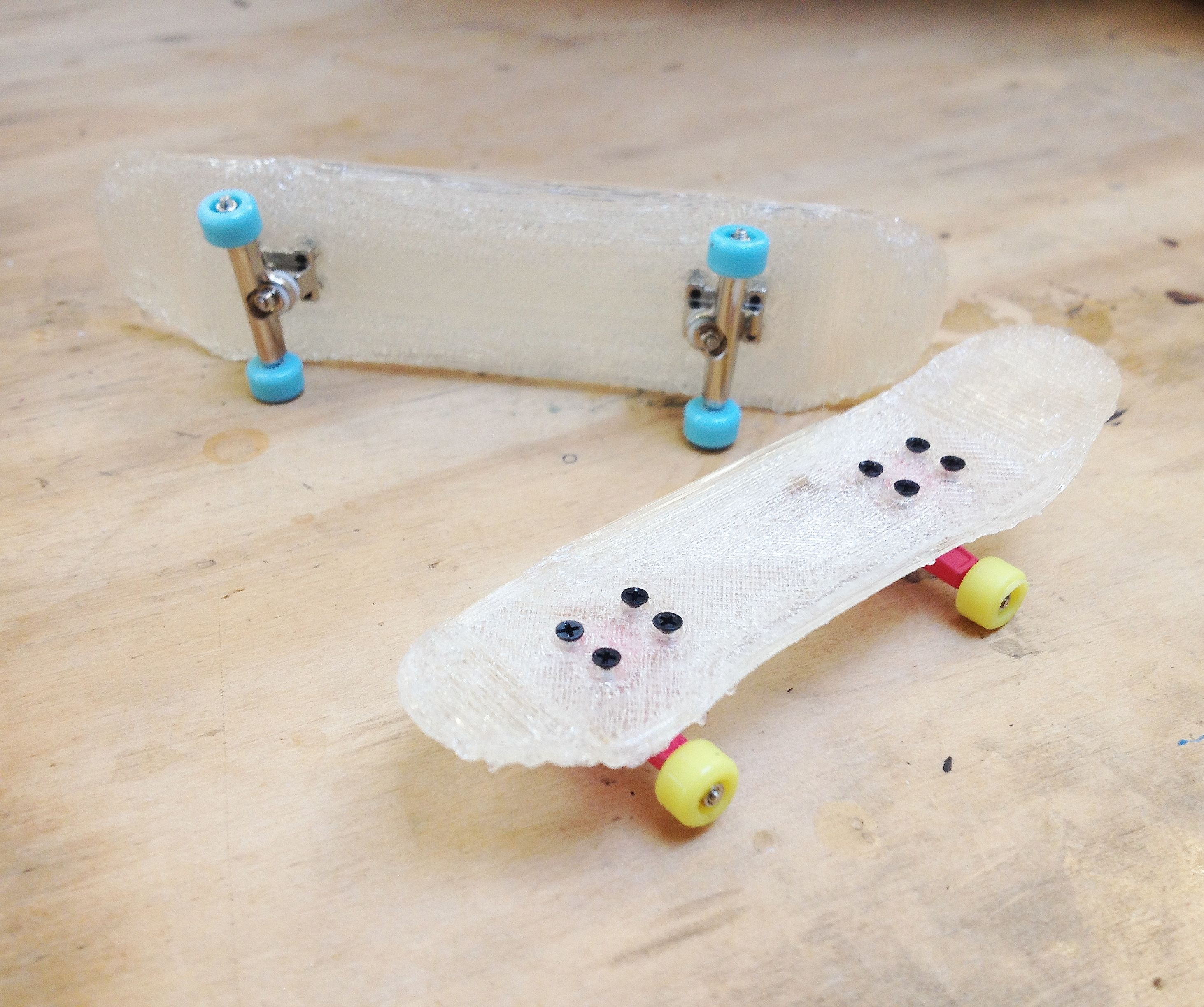 Custom 3D Printed Fingerboards!