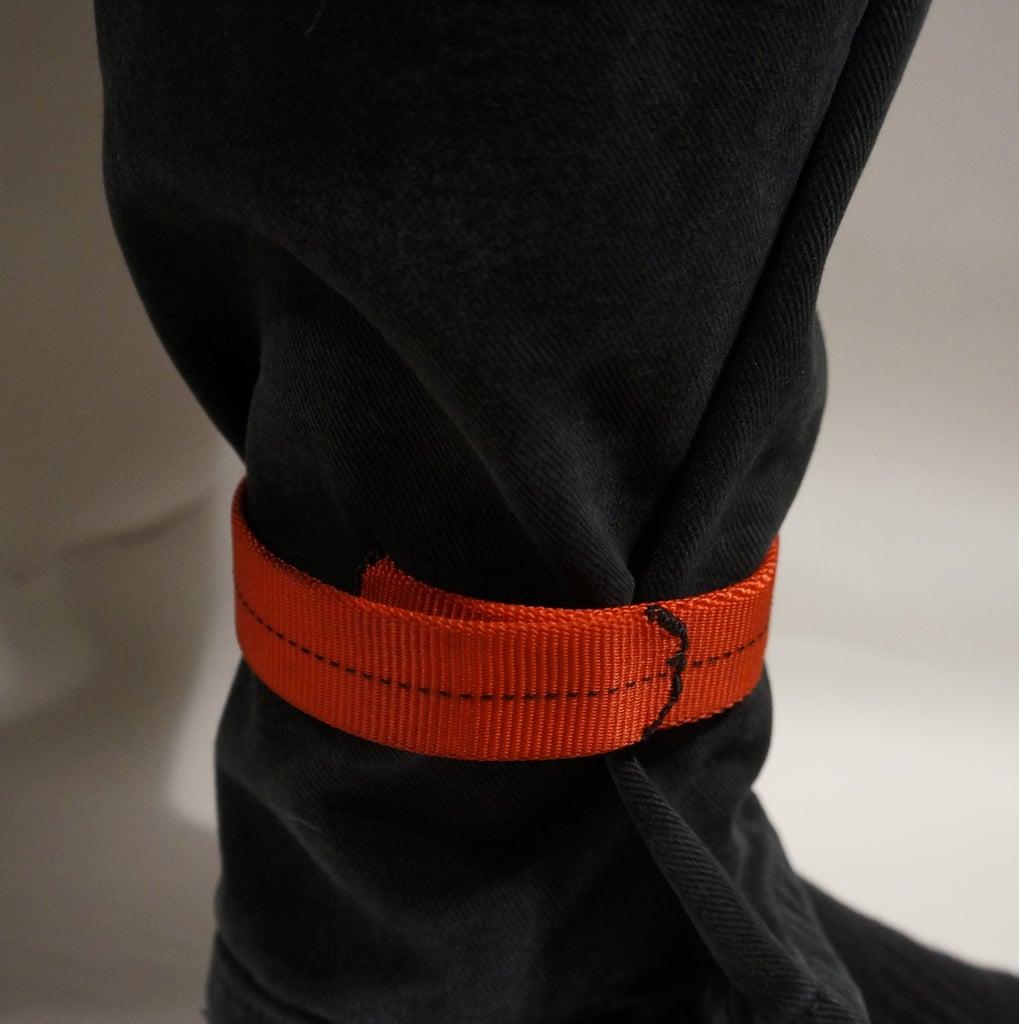 Simple Slap Bracelet / Cycling Trouser Strap