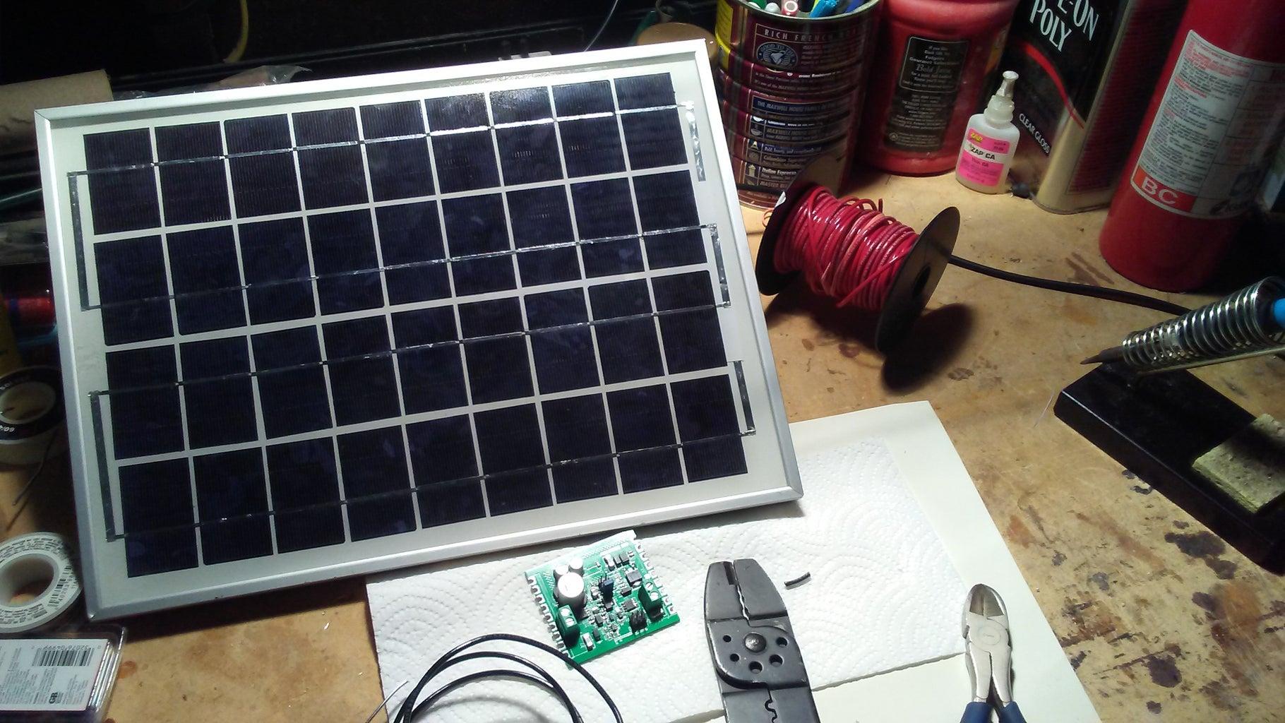 Solar 12V SLA Battery Charger