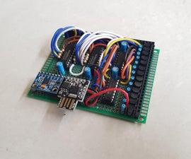 ATTINY85–同时使用I2C和SPI协议