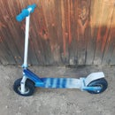 Off Road Scooter From Scratch!!!