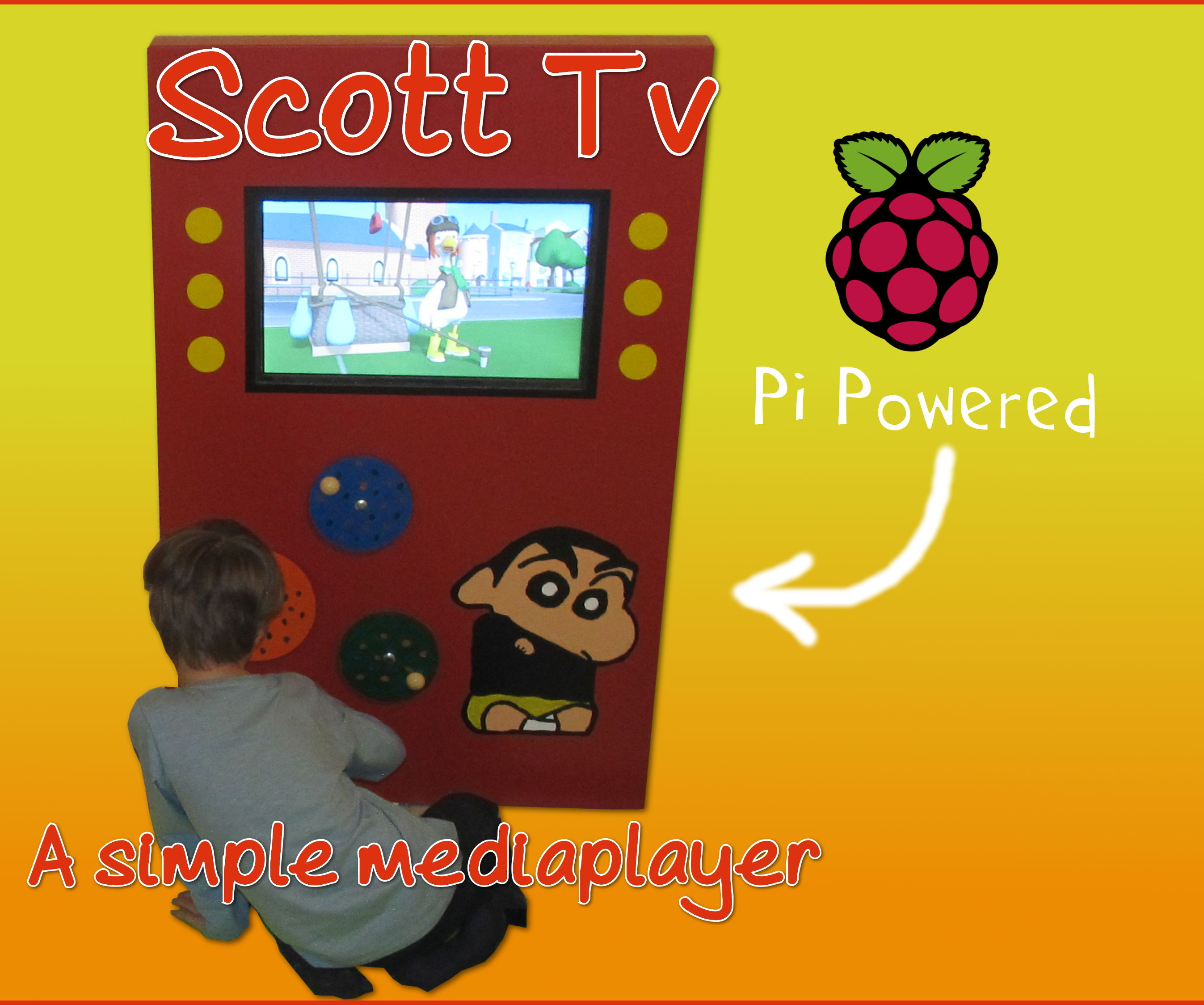ScottTV - A Simple Media Player For My Austic Son