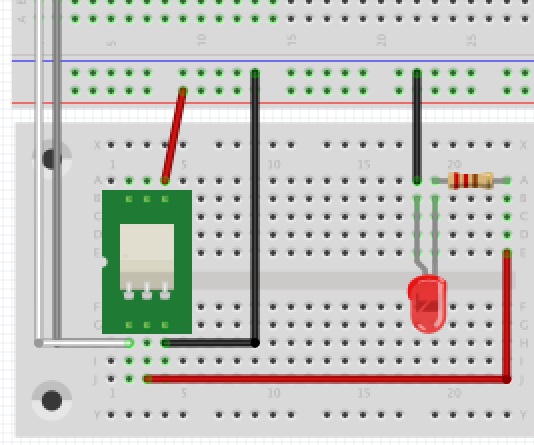 How to drive a relay from an Arduino (Bareduino) using the bare minimum of components