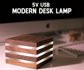 Modern LED Desk Lamp...Powered by 5V USB