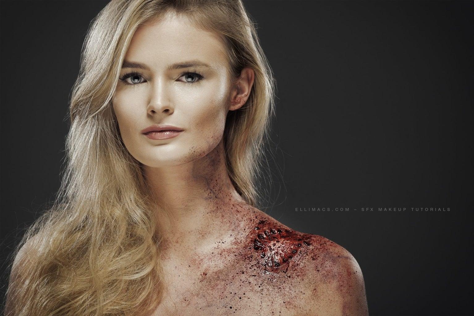 Zombie Bite - SFX Makeup Tutorial