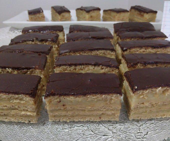 Vegan Honey Layer Cake (Mezes Zserbo)