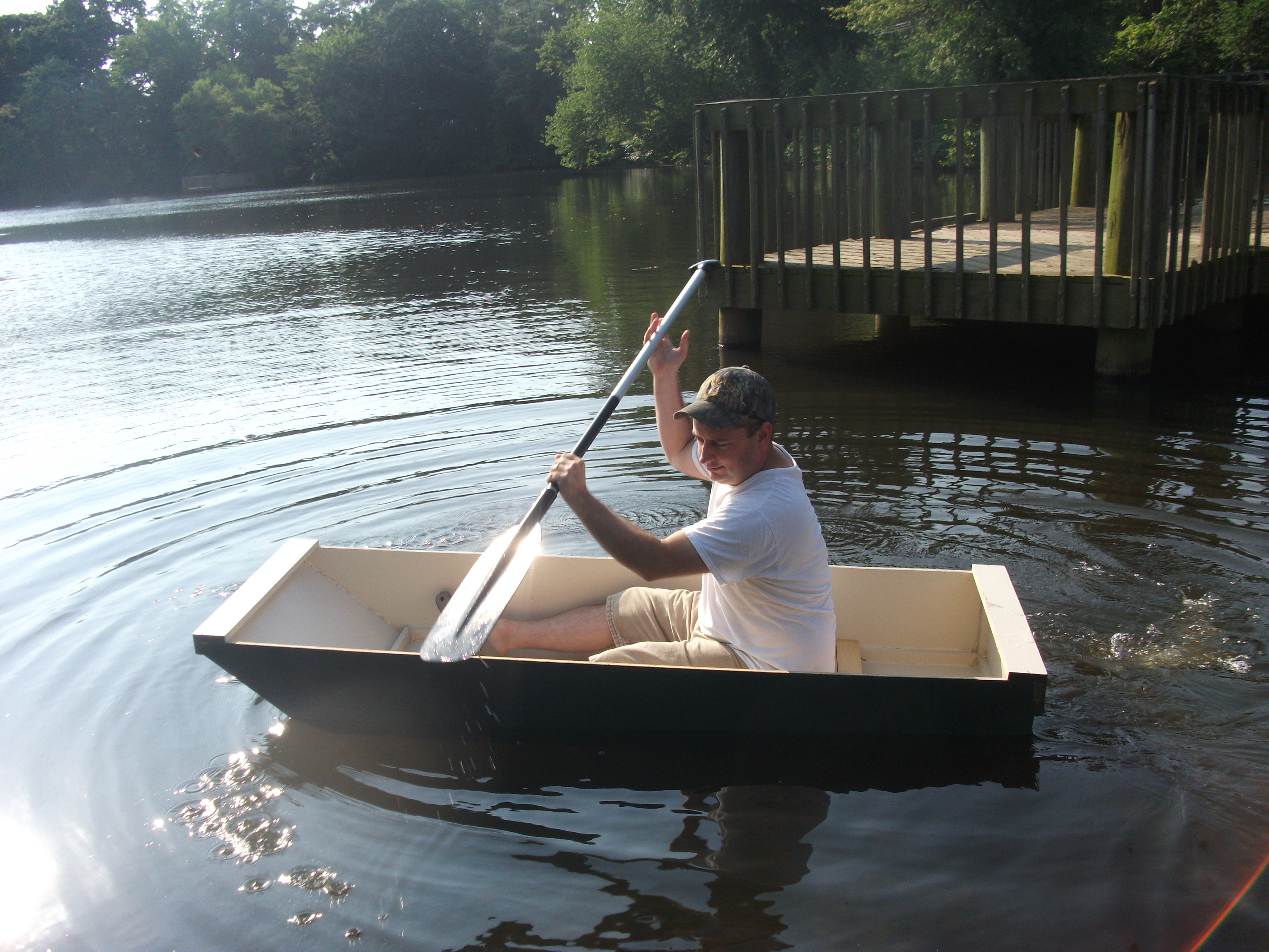 The BO-AT Single Sheet Plywood Boat