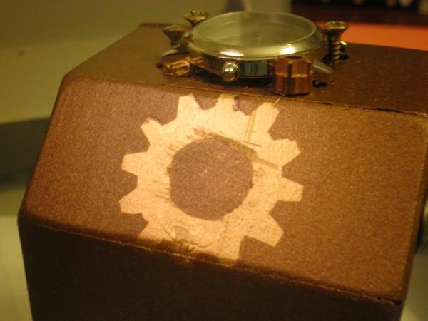 Steampunk Wristclock