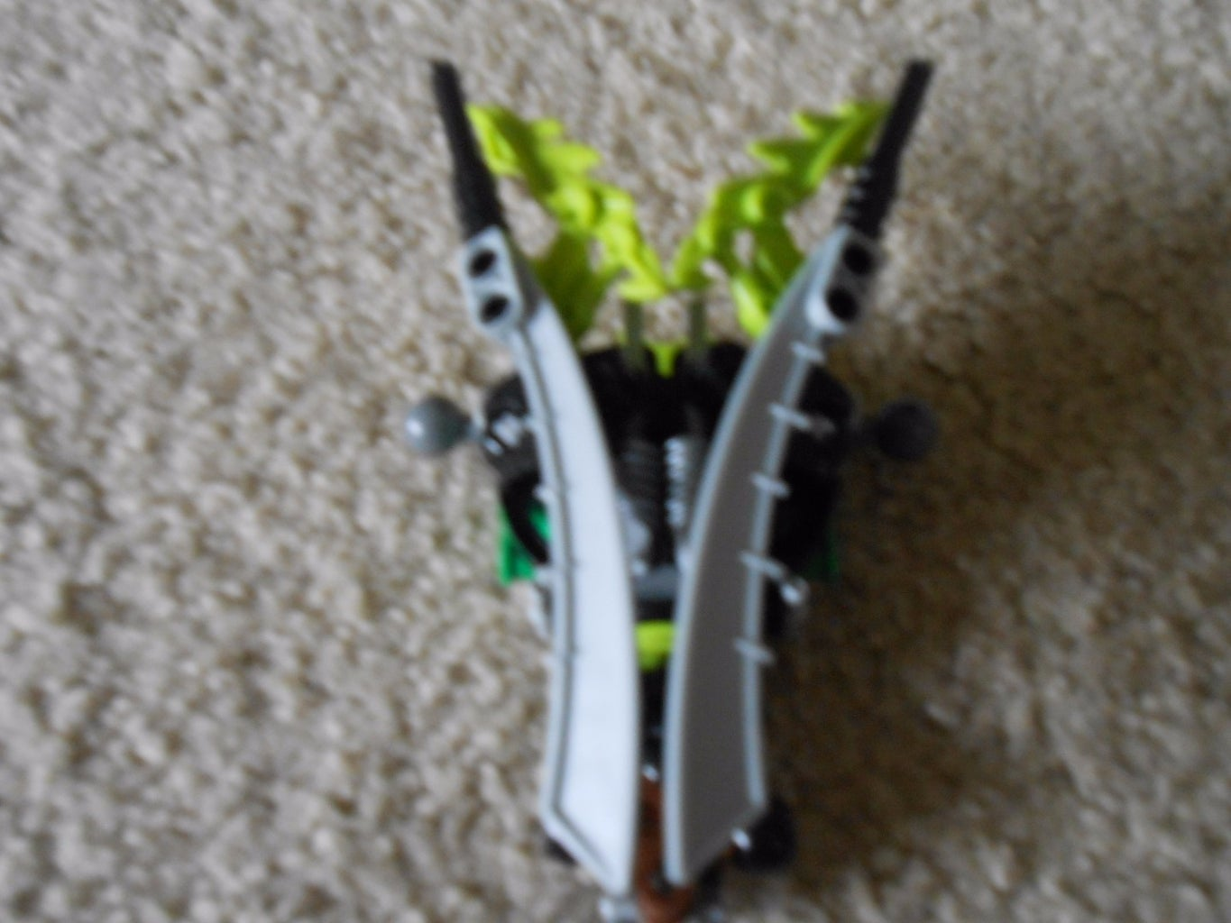 The Rest of the Back and Weapons