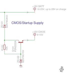 CMOS/Startup Supply