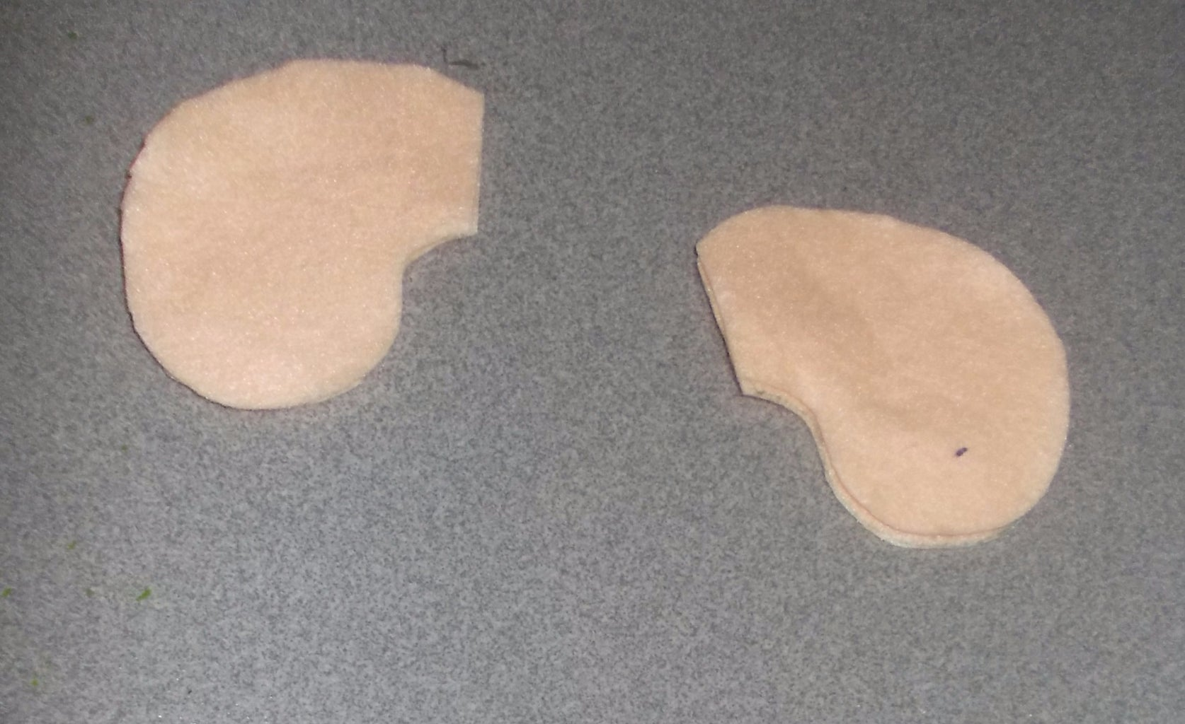 Cut Out  the Pair of Ears.