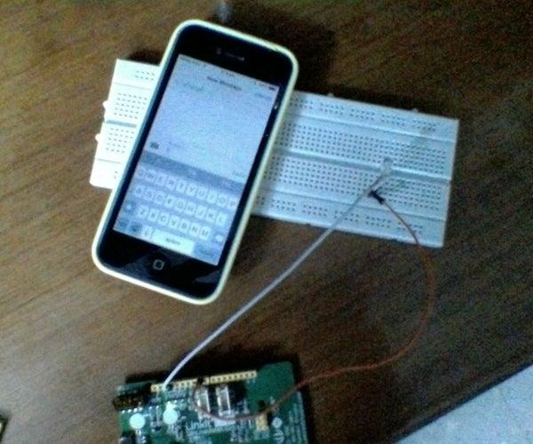 LinkitONE SMS Powered LED