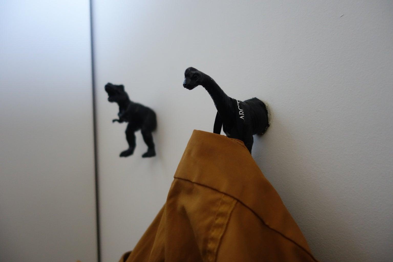 Dinosaur Coat Rack