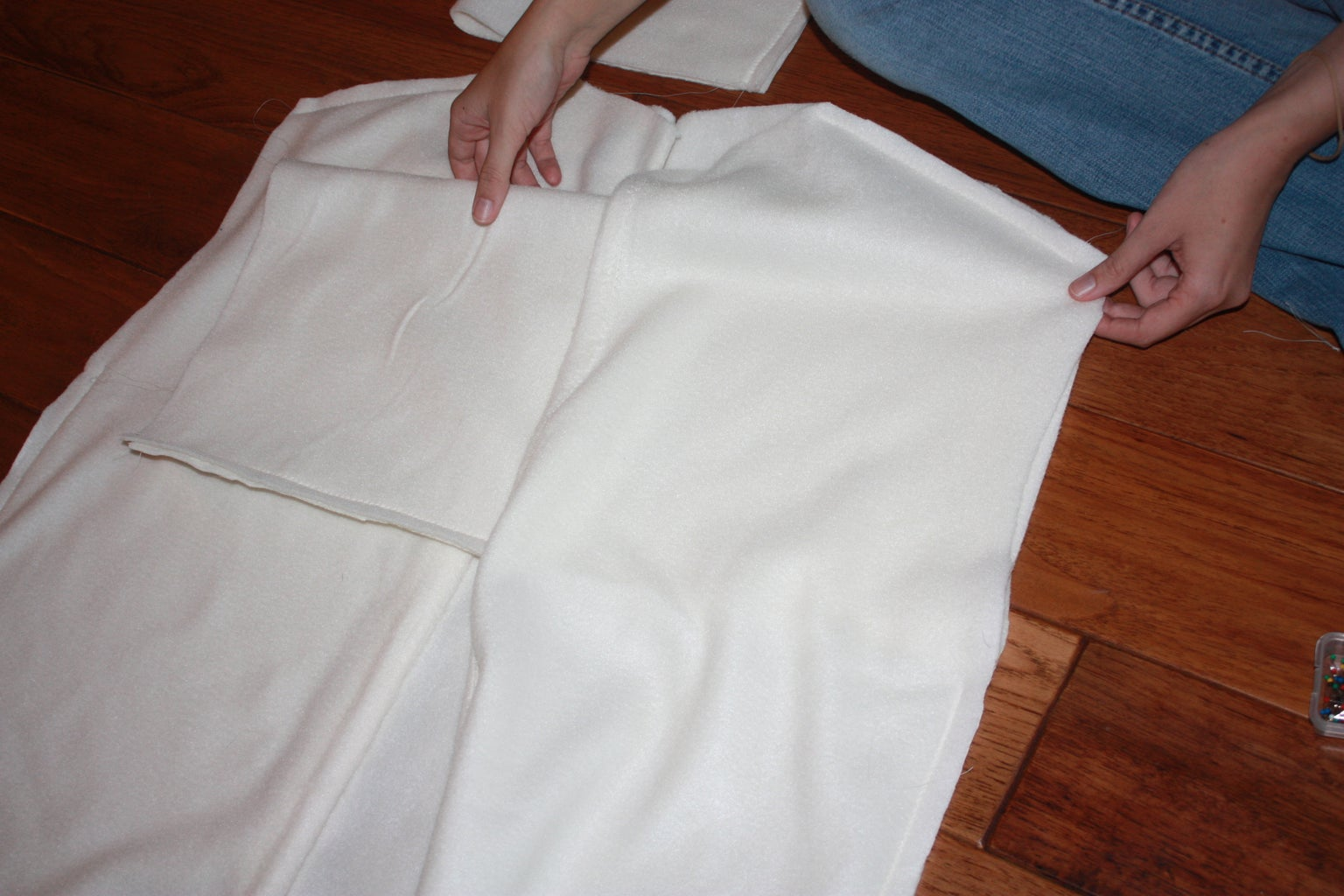 Attaching the Sleeves