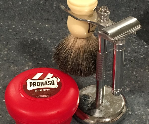 How to Wet Shave With a Safety Razor.