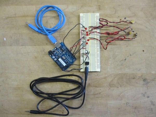 Representing Audio Through Vibration With Arduino
