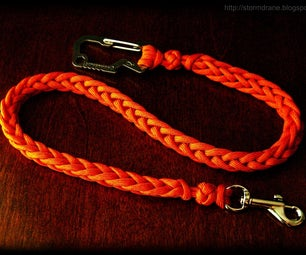 How to Make a Two-peg Spool Knit Paracord Lanyard