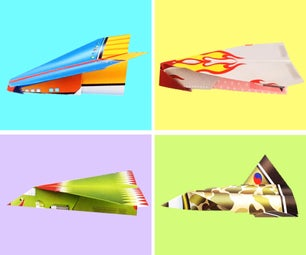 Paper Craft for Kids: 4 Type of Paper Airplanes /Jets
