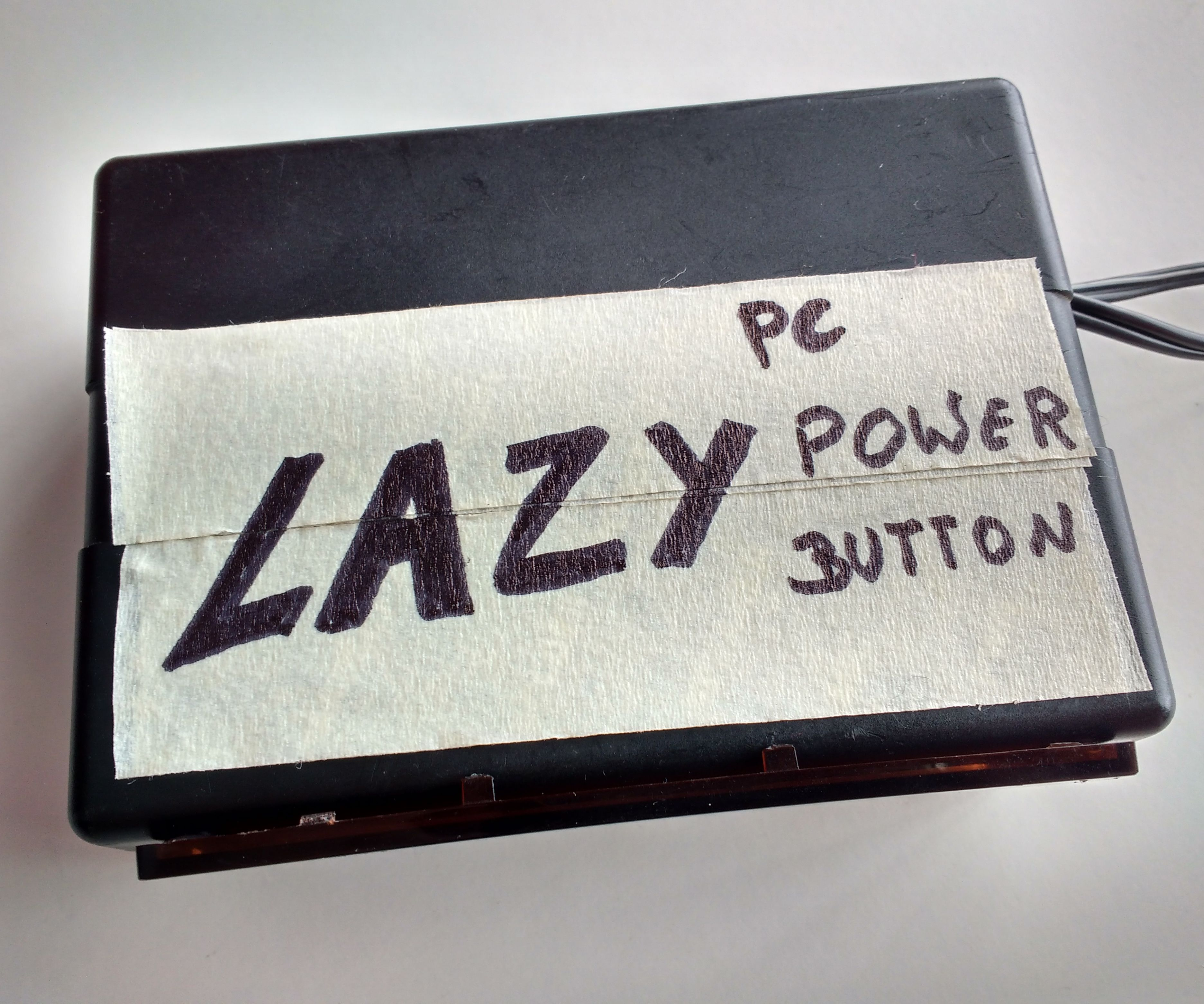 Lazy Pc Power Button