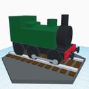Train Miniature by Jon