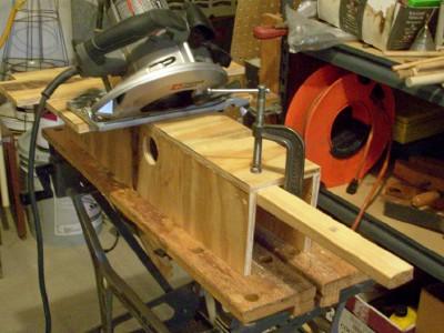 A Miter Box for a Circular Saw