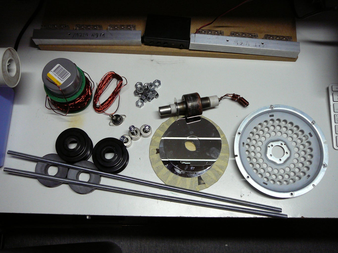 Parts, Components and Plans...