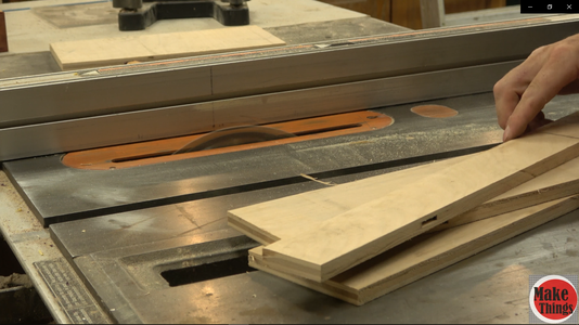 Cutting and Gluing the Jig Panels